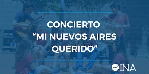 """Concierto """"Mi Nuevos Aires Querido"""""""