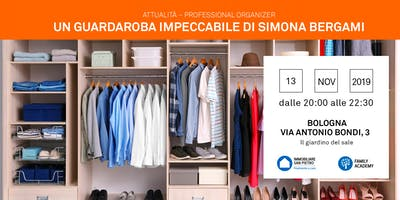 13/11/2019  Professional Organizer: Cambio di Stagione per un guardaroba perfetto - Bologna