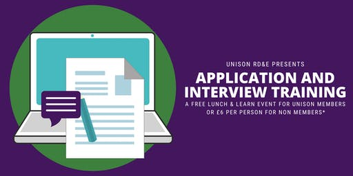 UNISON Lunch and Learn - Job Application & Interview Training