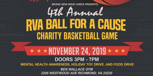 4th Annual Ball For A Cause Charity Basketball Game