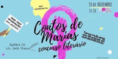 CONTOS DE MARIAS - CONCURSO LITERARIO