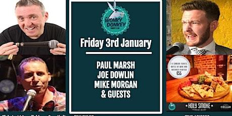 Paul Marsh, Joe Dowlin, Mike Morgan & Guests tickets
