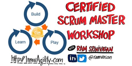 "Toronto Dec. Weekend Certified Scrum Master (CSM) - ""Build-Play-Learn"" Scrum tickets"