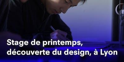 STAGE DE PRINTEMPS LYON, DÉCOUVERTE DU DESIGN À STRATE, ÉCOLE DE DESIGN