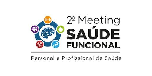 2˚   Meeting da Saúde Funcional