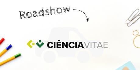 Sessão de apresentação da plataforma  CIÊNCIAVITAE - CIAUD/FA-UL bilhetes