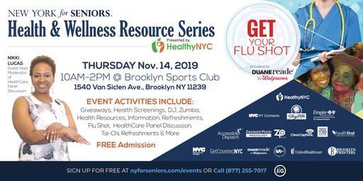 New York for Seniors Health & Wellness Resource Fair | East Brooklyn