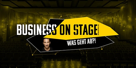 BUSINESS ON STAGE billets