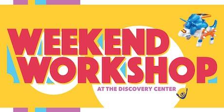 Weekend Workshop: Robot tickets