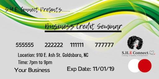 Business Credit Seminar