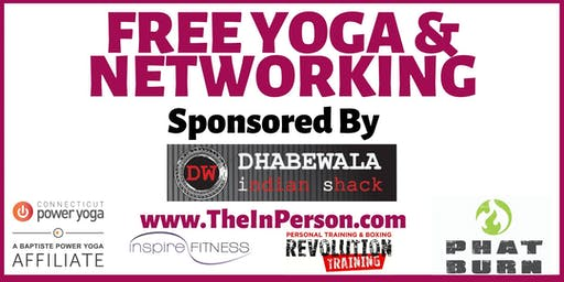 FREE Yoga & Networking