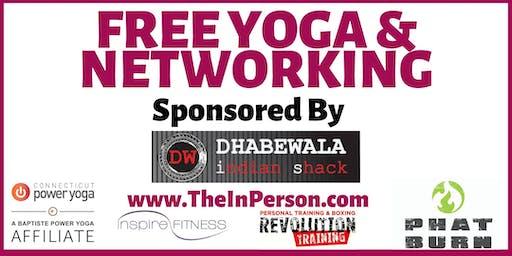 FREE Yoga & Networking