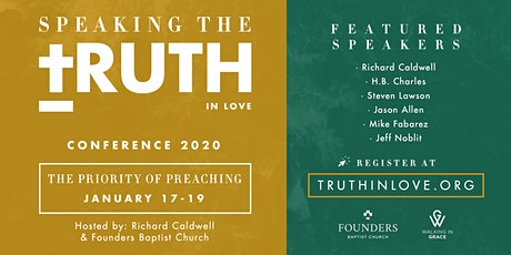 Speaking the Truth in Love: The Priority of Preaching tickets
