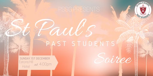 St Paul's School Past Students Soirée 2019