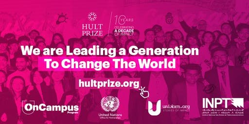 Hult Prize at INPT : OnCampus Program