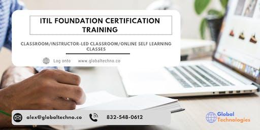 ITIL Foundation Classroom Training in Matane, PE