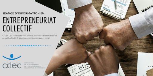 Séance d'information sur l'entrepreneuriat collectif