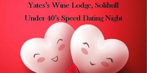 Solihull Speed Dating Ages 22 - 38