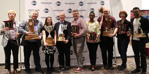 District 86 Toastmasters Annual Awards Dinner and Keynote November 23, 2019