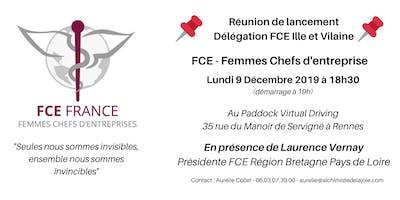 FCE Femmes Chefs d'Entreprise - Réunion de lancement de la délégation 35