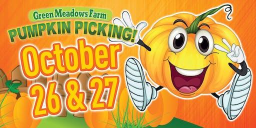 Green Meadows Farm Pumpkin Picking