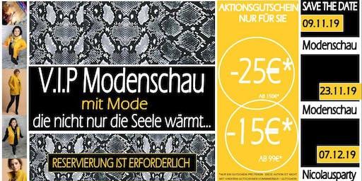 Plussize Modenschau