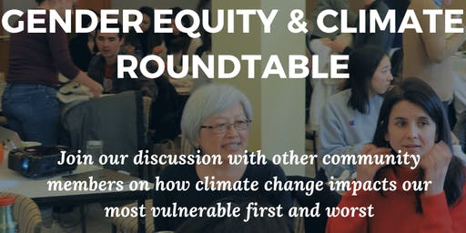 Gender Equity and Climate Roundtable