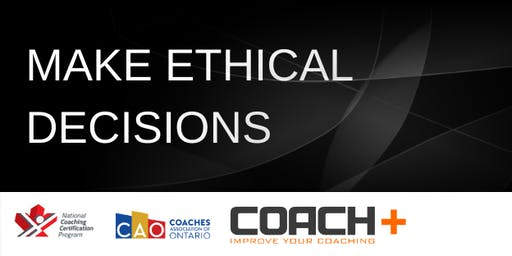 Make Ethical Decisions Training (NCCP)