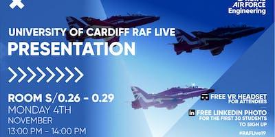 RAF LIVE PRESENTATION - Cardiff University