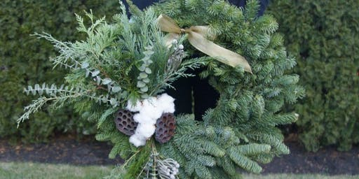 Holiday Wreath Making at The Ropewalk Shops with Alice's Table