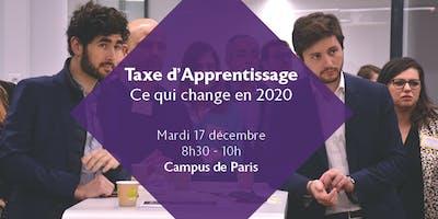 Petit déjeuner EDHEC Business Club - Réforme Taxe d'Apprentissage 2020