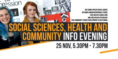 Social Science, Health and Community Information Evening