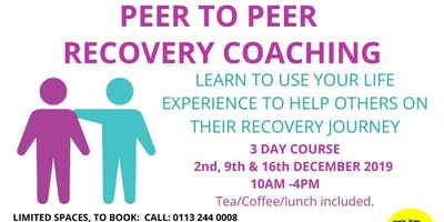 Peer Recovery Coaching