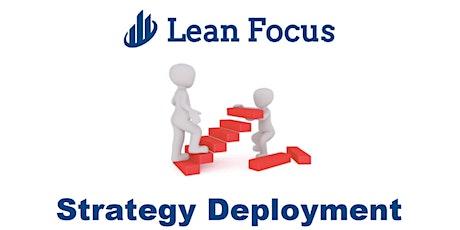 Lean Transformation Academy - Strategy Deployment (9/17/20-9/18/20) tickets