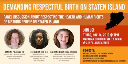 Demanding Respectful Birth on Staten Island