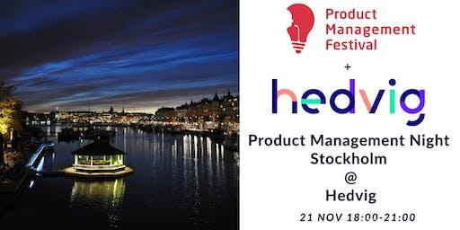Product Management Night Stockholm @Hedvig