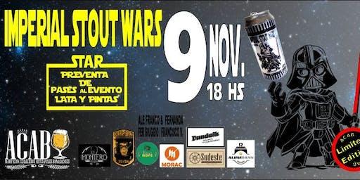 Presentación de Imperial Stout Wars