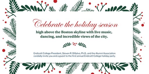 First Annual Endicott College Boston Holiday Party