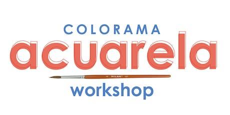 Workshop de Acuarela por Colorama entradas