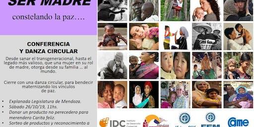 Conferencia Ser Madre, Sorteos Día de la Madre, y Charla Preventiva.
