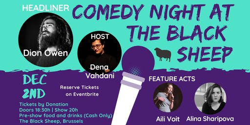 Comedy Night at The Black sheep