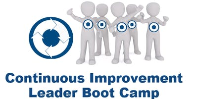 Lean Transformation Academy - Continuous Improvement (C.I.) Leader Boot Camp (2/10/20-2/14/20)