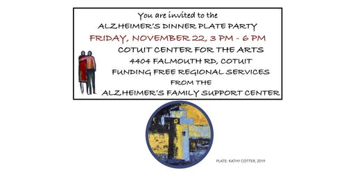 ALZHEIMER'S DINNER PLATE PARTY IN COTUIT