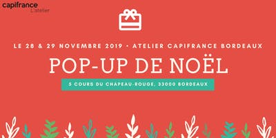 28 & 29 novembre : Pop-Up Store spécial Noël