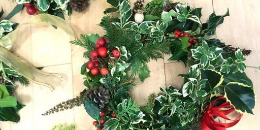 Kids Wreath-Making Class with Debi Lily of a Perfect Event