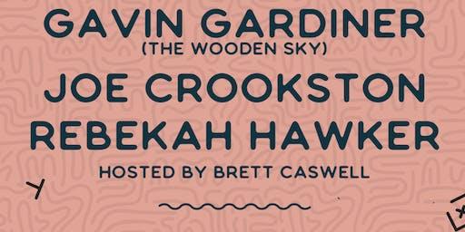 Songwriter Series - Gavin Gardiner, Joe Crookston, Rebekah Hawker