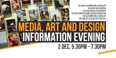Media, Art and Design Information Evening