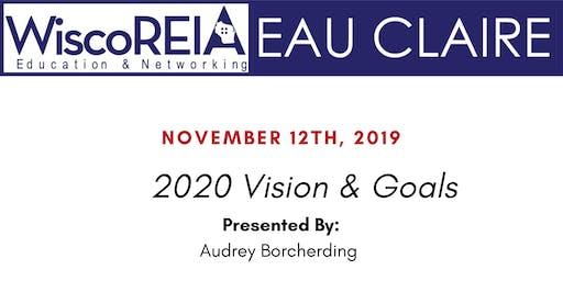 WiscoREIA's Eau Claire Meeting - November!
