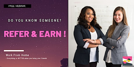[Webinar: Work at Home] Online Jobs, Referral Bonus, and More! tickets
