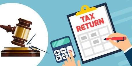 Tax Return for Creative Entrepreneurs tickets